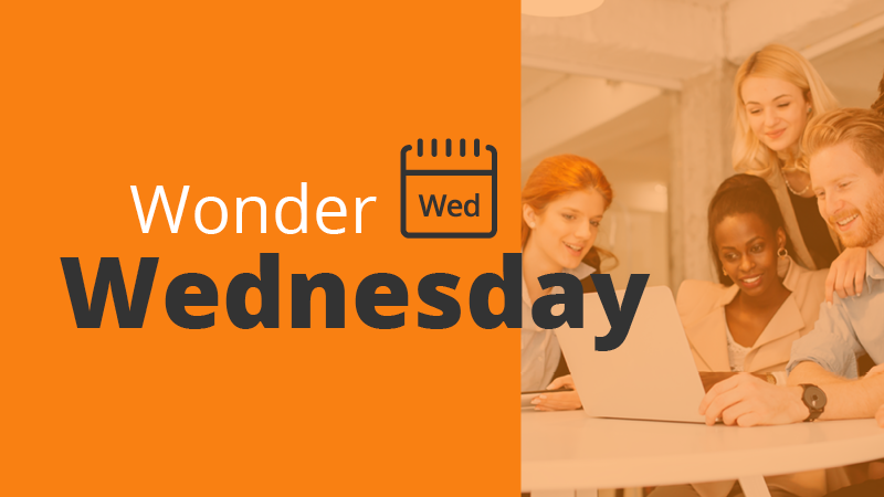 wonder wednesday