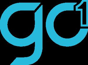 GO1 logo blue