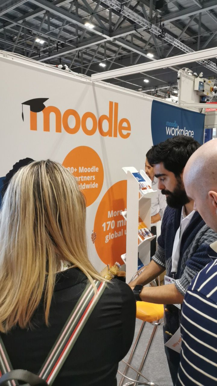 Showing Moodle Workplace