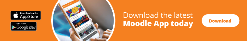 Download the latest Moodle App today